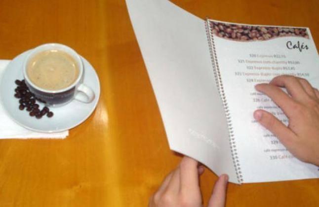 Tomó estado parlamentario un proyecto que obliga a los restaurantes a tener cartas de menú en braille