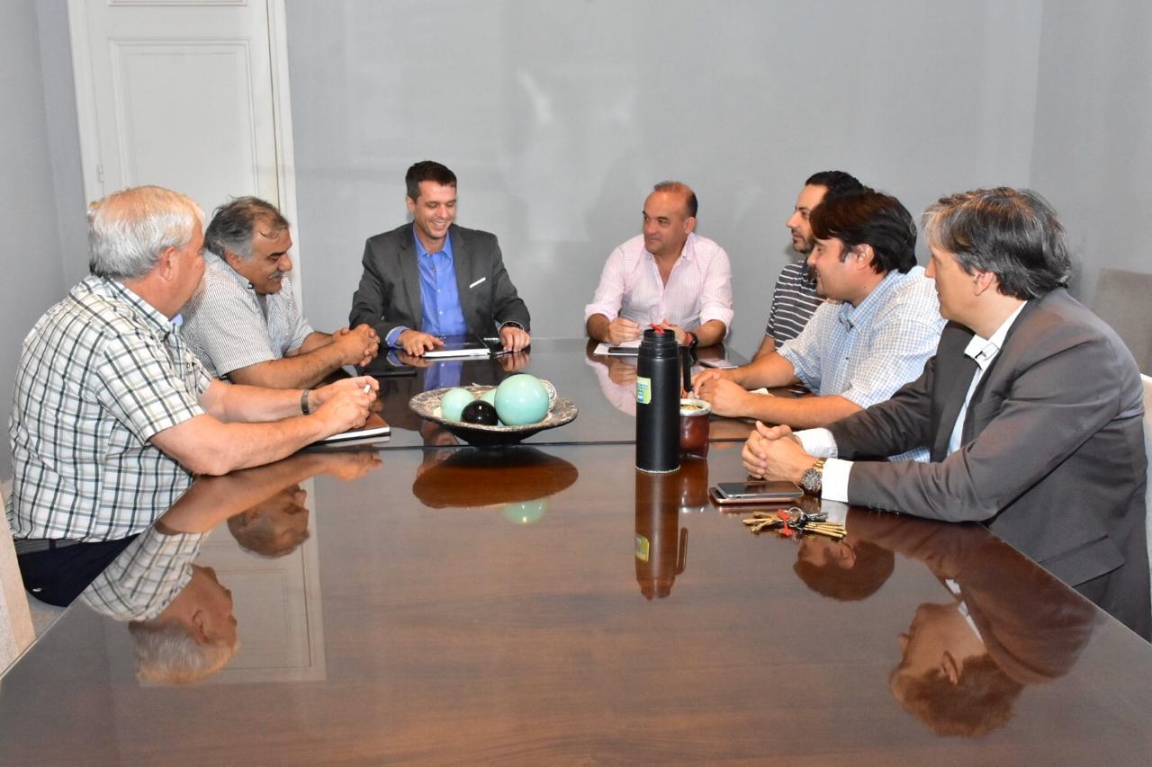 El presidente de la Cooperativa Eléctrica de Concordia y el intendente Cresto trazaron una agenda común de trabajo - APF Digital
